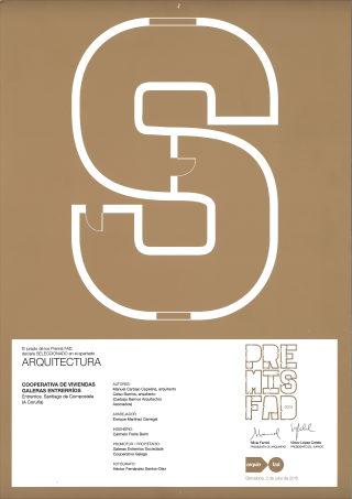 Seleccionados Premios FAD. Proyecto 81 viviendas Galeras Entrerríos Sociedade Cooperativa